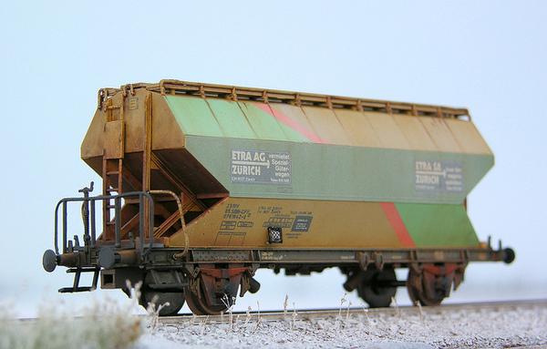 1:87 H0 Roco Silowagen SBB Etra (2) #train #model #diorama #photography #railway #miniature