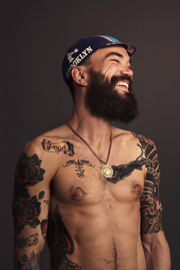Andrew Romashyna by Thomas Dagg #photography #tattoo #tattoos