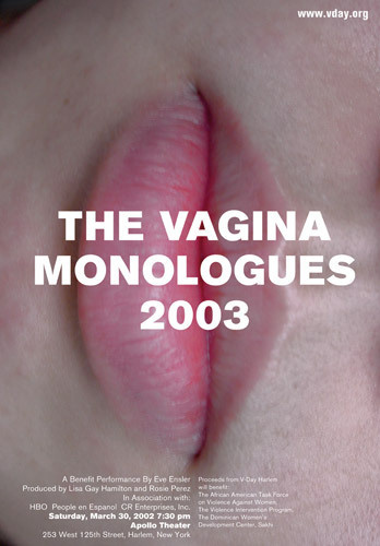 Vagina Monologues | Chermayeff #iconic #graphid #design #posters