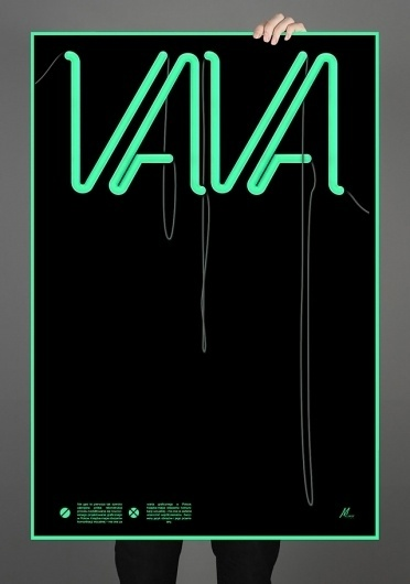 Michal Bohdankiewicz Graphic Design #cool #bulb #make #sign #neon #design #shit #poster #mbdsgn #light #typography