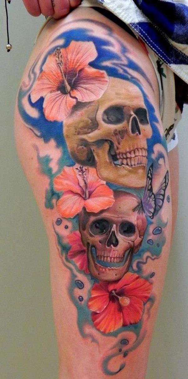 50 Incredible Leg Tattoos #leg #tattoos