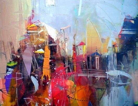 Paintings by Lyubomir Kolarov | InspireFirst #screen #paint #art #oil