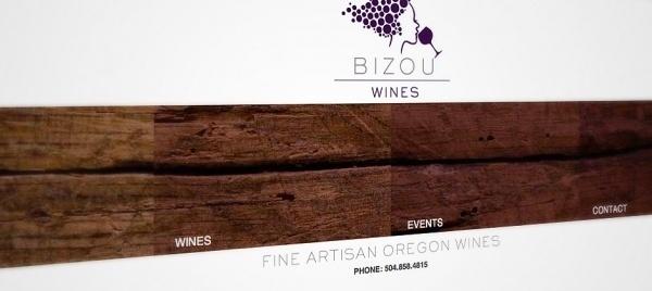 Logo Design and Web Redesign for Bizou Wines | Skuba Design Studio #minmal #design #website #web #navigation