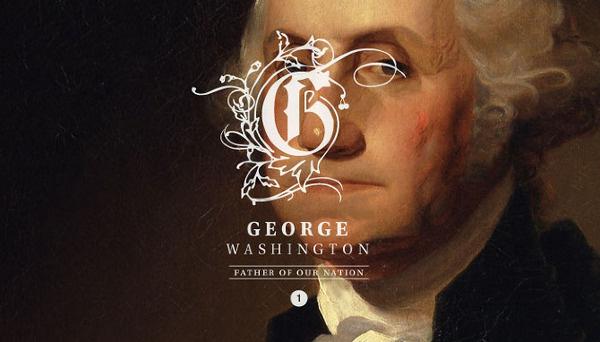 Branding the US Presidents Meg Jannott #george #washington #branding #typography