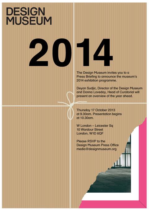 StudioThomson – Design Museum #poster