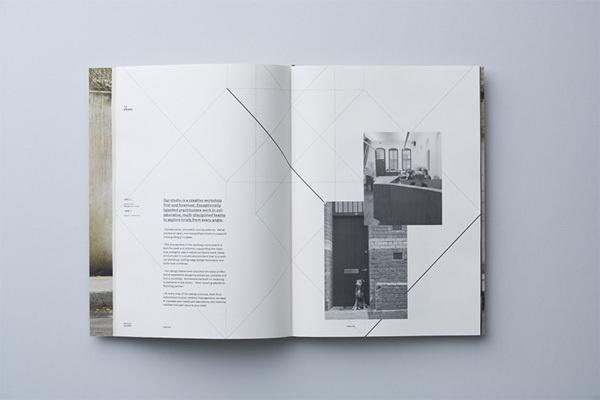 brochure, layout #cop #architecture #brochure