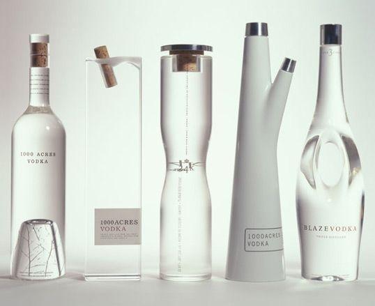 1000 Acres Vodka #bottle #vodka #minimal #minimalist #package