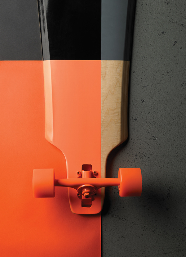 GoldCoast | The Pressure #orange #skateboard #goldcoast #studio photo