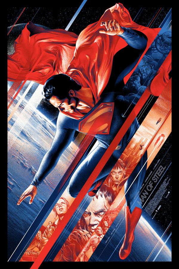 Man of Steel #steel #dc #of #illustration #poster #film #man #comics #superman