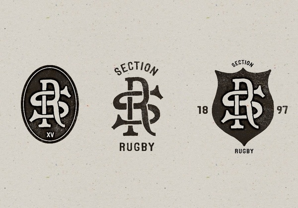 Toulouse SOET Section Rugby on Typography Served #ups #lock #typography