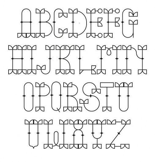 PARAPAM GUN - FONT on the Behance Network #type #typography