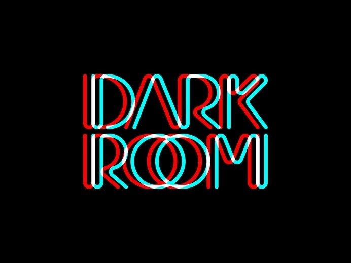 DARKROOM Custom Logo by Urtd http://www.urtd.net/lettering/darkroom #typography #letters