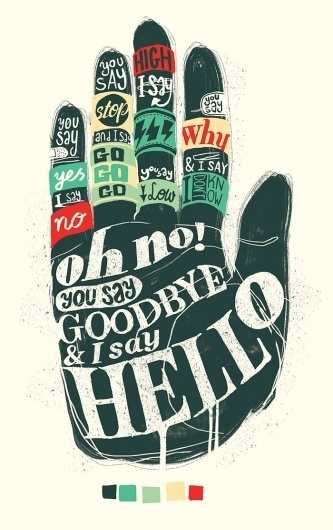 All sizes | HelloGoodbye | Flickr - Photo Sharing! #typography