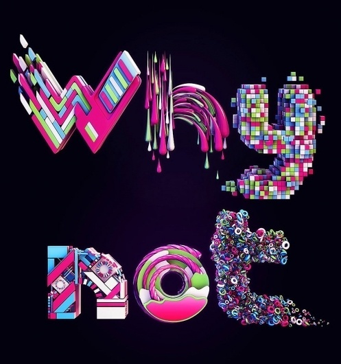 25 Creative Typography Designs - Testing the boundaries of creativity #pink #type #design #typography