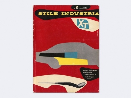 Display | Stile Industria 2 | Collection #cover #vintage #industrial1950 #book