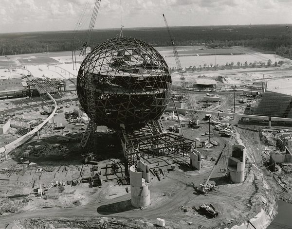 Google Image Result for http://www.imagineeringdisney.com/storage/Imagineering Disney_EPCOT Center Construction 1.jpg #photo #epcot #construction