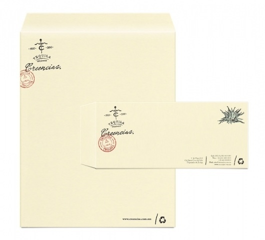 lovely-stationery-creencias2.jpg 883×800 pixels #type #stamp #letterhead