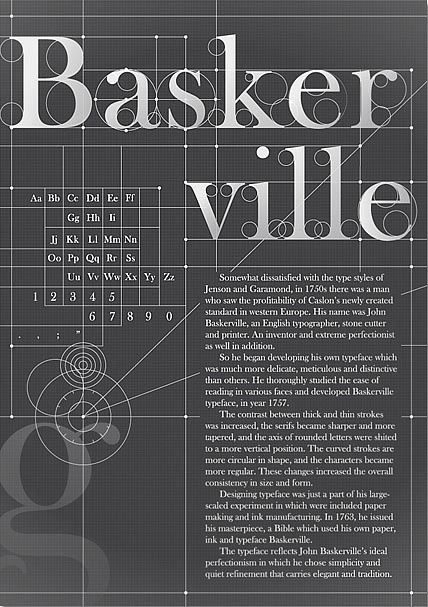 Tumblr #baskerville #typeface #john