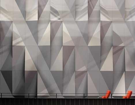 Dezeen » Blog Archive » Kilden performing arts centreby ALA Architects #wall #architecture #paneling