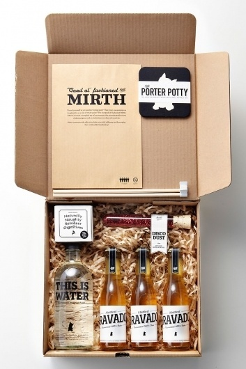Merrymaking Must-Haves | BLDGWLF #packaging #xmas #bottle