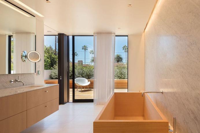 bathroom, modern house, EYRC Architects