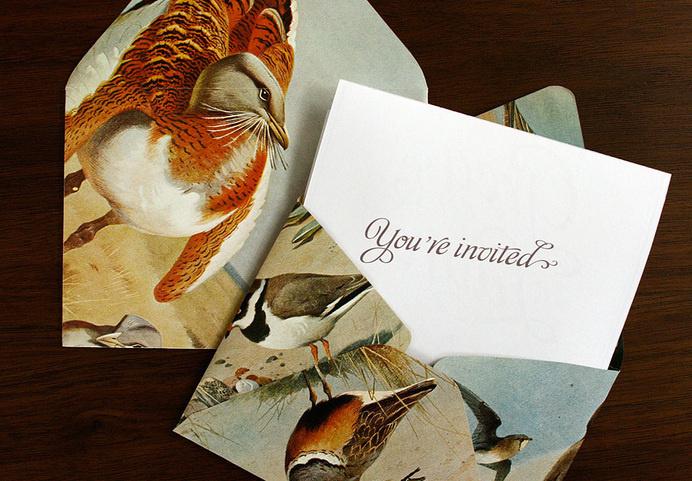 lovely-stationery-greg-and-laura-wedding-invite-2 #invite #invitation #packaging #print #illustration #envelope #type #typography
