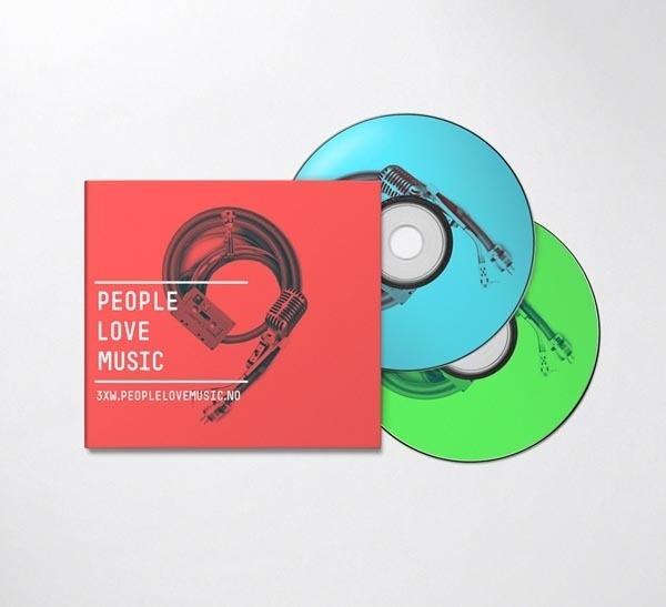 People Love Music Identity #design #graphic