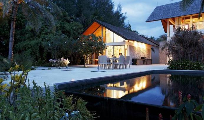 6 Bedrooms beachfront Private Villa in Natai Beach, Phuket, with Pool
