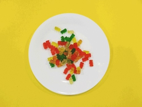 Microwhat, Featuring Before & After Photos of Things Being Microwaved #bears #gummy #microwave