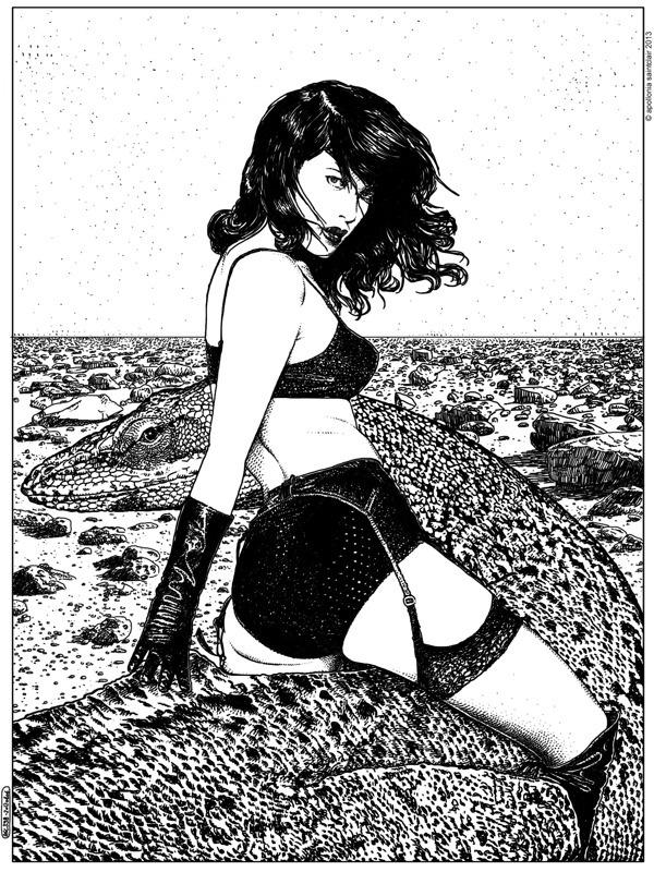 Portofolio 2013 / PART I on Behance #comic #dragon