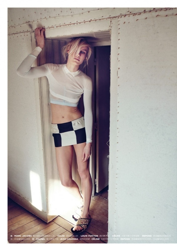 Fashion Photography: Delfine Bafort by Sofia Sanchez and Mauro Mongiello #fashion #photography #inspiration