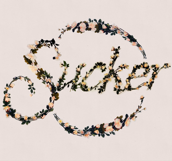 Better With Flowers on Behance #typography