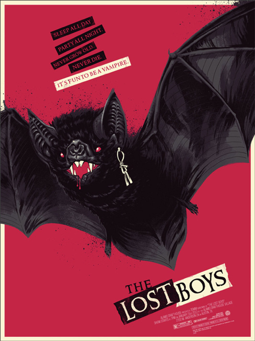 The Lost Boys Poster by Phantom City Creative #movie #design #graphic #the #poster #boys #lost