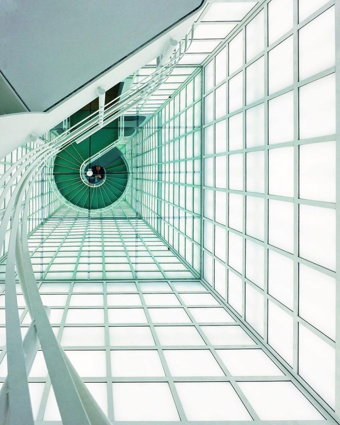 Minimalist and Colorful Architecture Photography by Florian Zenk