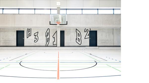 Alfred Kärcher Sporthalle L2M3 Kommunikationsdesign GmbH #signage