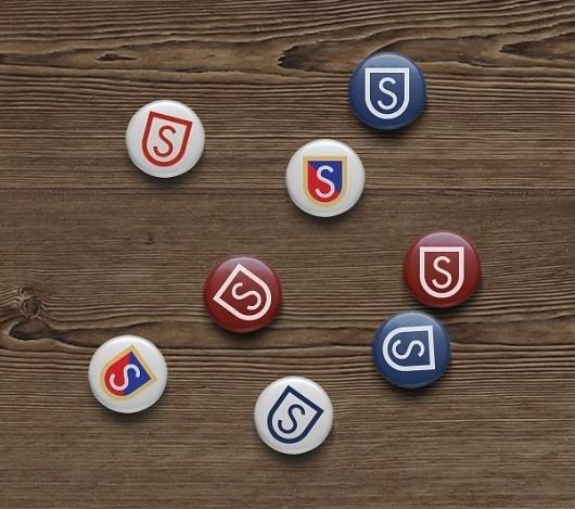 Skarpa on the Behance Network #urban #golf #sport #yoyo #city #button #park #shield #disc #emblem #frisbee