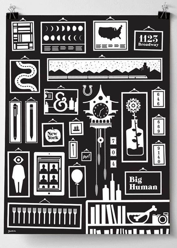 BigHuman Dan Blackman: Art Direction #print #illustration