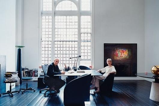 Cross-Media Impresarios Massimo and Lella Vignelli - Design 2007 -- New York Magazine #massimo #vignellis #lella #vignelli