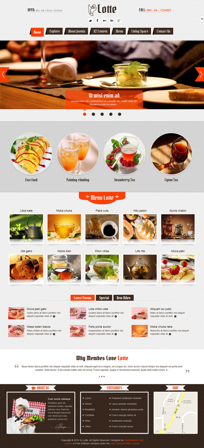 #food, restaurant, concept, layout, web design