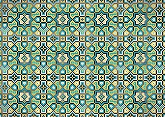 Pattern on the Behance Network #arabic #pattern