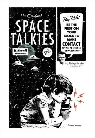 SPACETALKIES_POST_STORE.jpg 690×1.000 pixels #design #poster #typography