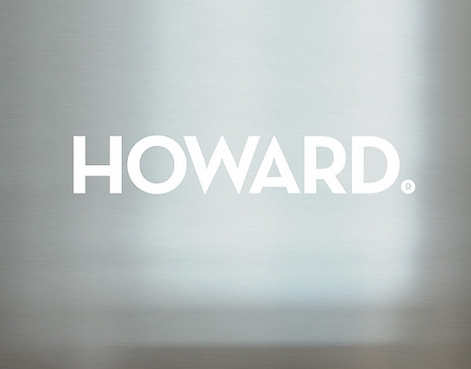 Howard on the Behance Network #logo #identity