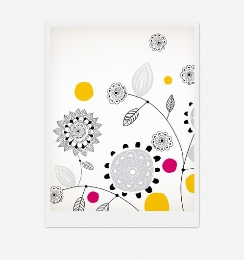 A Positive design on the Behance Network #illustration