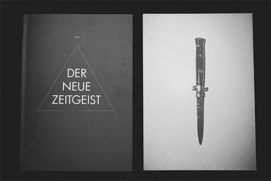 ruiné | ruiné 1 / Bench.li #typography #design #graphic #knife #switchblade