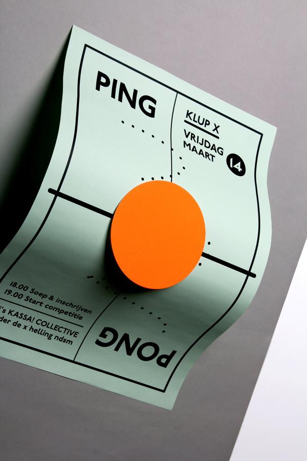 Ping Pong Night byMarta Veludo #pong #ping