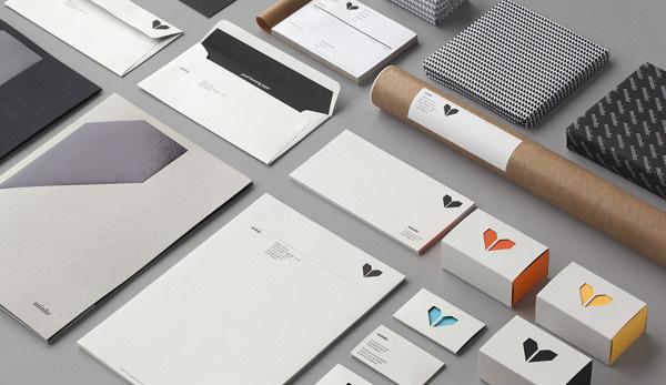 minke #atipo #branding #icon #simple #identity #stationery #logo