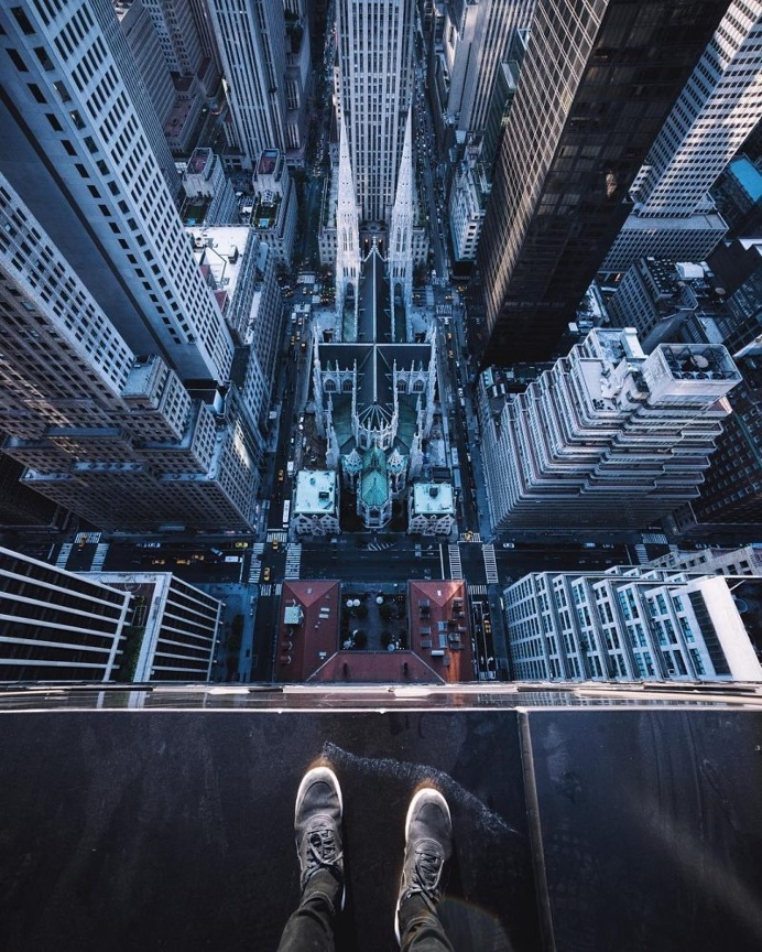 Terrifying Rooftop Photography From The Futurescapes of Shanghai by Jennifer Bin