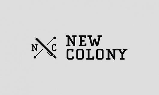 New Colony on the Behance Network #logo #identity