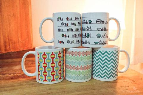 The Babybirds Projects » Pattern Mugs – Pre Order Now! #mugs #pattern #retro #mug