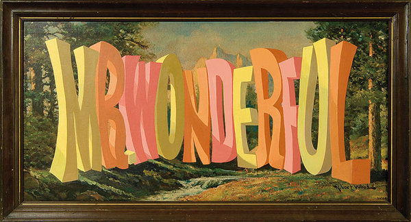 Wayne White : Word Paintings #wayne #white #painting #typography